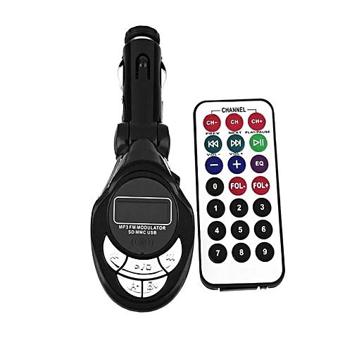 Buy Original Accessories ACE Car Mp3 FM Modulator Transmitter With USB & Memory Card Slots ...
