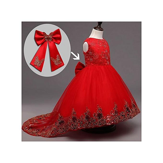 3dfa38b0e Buy FASHION Baby Girl Dress Children Kids Dresses For Girls 2 3 4 5 ...