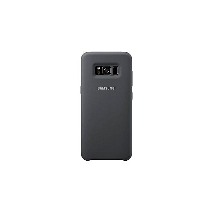 official photos de4b4 918fc Galaxy S8 Silicone Cover - Black
