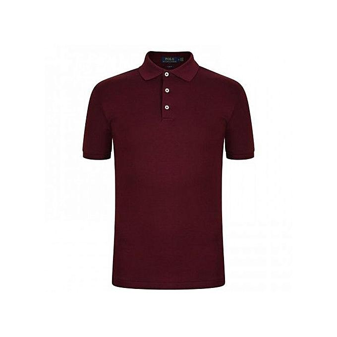 Maroon Shirt Polo T Men's Men's 5Rqjc3S4AL