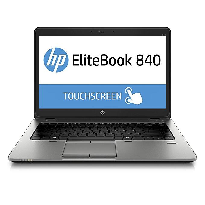 Refurbished Core i5 Touch Screen HP EliteBook 840 Ultrabook ntel Core i5  4300U, 8GB Memory 500GB Windows 10 Professional 64-bit