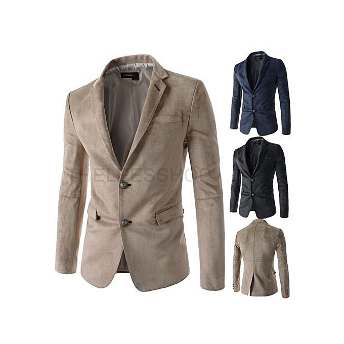 a6564022bc ... Stylish Men's Leisure Formal Bridegroom Suits Two Buttons ...