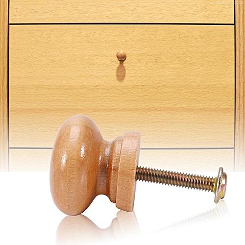 Generic 10pcs Natural Wooden Furniture Pull Handle Kitchen Cabinet Drawer Cupboard Door S 24mm Online Jumia Uganda