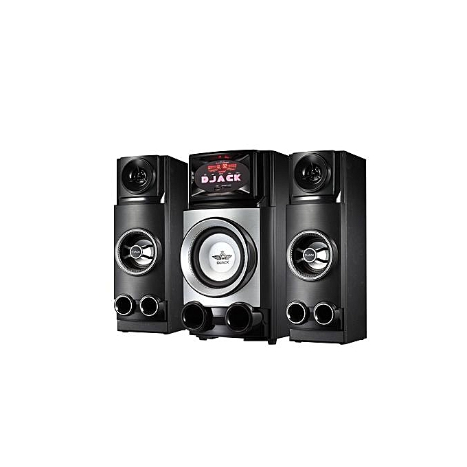 Djack-L2 2in1 woofer/Bluetooth/FM/SD Card/USB Home Theatre Speaker - Black