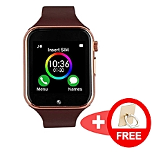 c0889b2f51b163 Bundle of an Advanced Touch Screen Smart Watch with SIM Card and Memory  Card Support (
