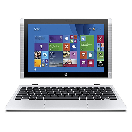 "Hp Pavillion X2 Laptop Detachable Intel Celeron Processor,4Gb Ram,64Gb Ssd  Hard Disk Drive,10"" Detachable - Silver"