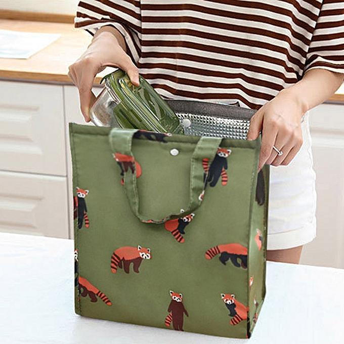 Hiamok Cute Women Ladies Girls Kids Portable Insulated Lunch Bag Box Picnic  Tote Cooler