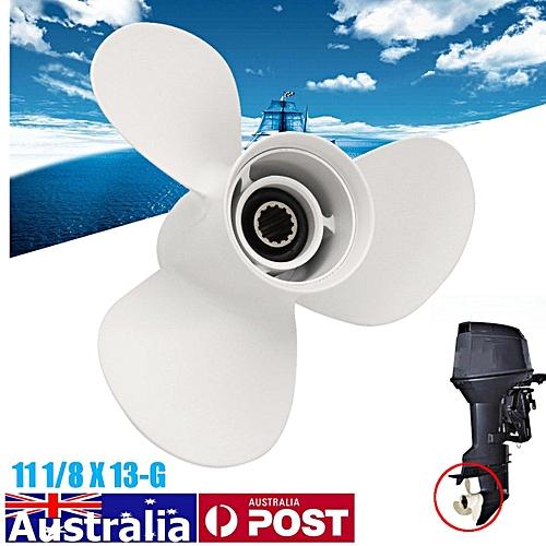 Boat Propeller 11 1/8 X 13-G Outboard Motor 3 Blade for Yamaha 40-50HP  Aluminum