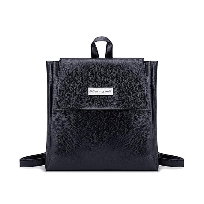 38105dba3b Haimok Women Leather Satchel Shoulder Backpack School Rucksack Bags Travel  Fashion BK