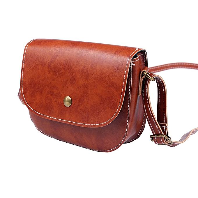 7c290c72ce10 Hiamok _Retro Women Messenger Bags Chain Shoulder Bag Leather Crossbody New  LB