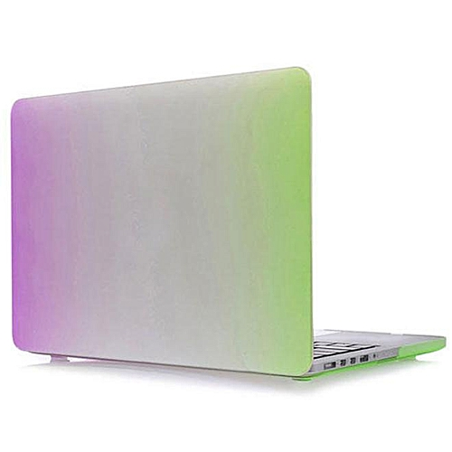 new arrival 0ed54 564f8 New Rainbow Hard Shell Case Cover Keypad Skin for Macbook Pro 13.3 inch D