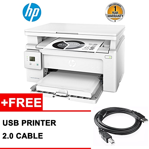 HP Multi-Purpose 3 in 1 (PHOTOCOPIER PRINTER SCANNER) LaserJet Pro MFP  M130A Multi-function Printer Powered by a JetIntelligence Toner Plus a Free