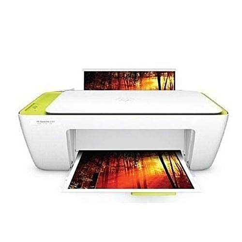 HP Deskjet 2130 (PRINT PHOTOCOPY SCAN) - White + FREE USB PRINTER CABLE -  White