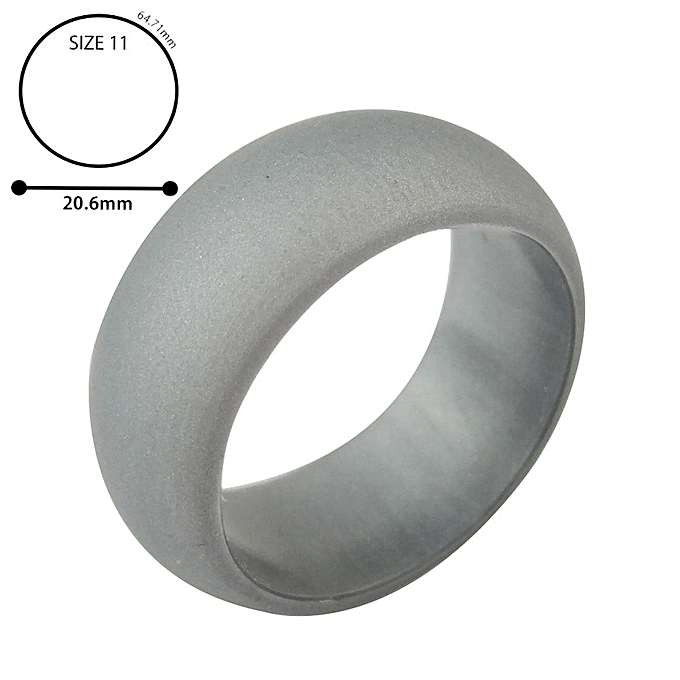 Men S Silicone Wedding Band.Hiamok 1pc Silicone Wedding Band Engagement Ring Hypoallergenic Mens Womens Jewelry