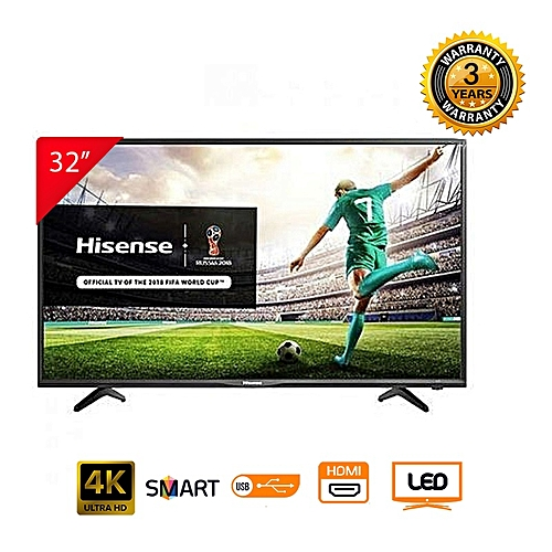 Hisense 32N2170HW - 32'' Smart LED TV - Black