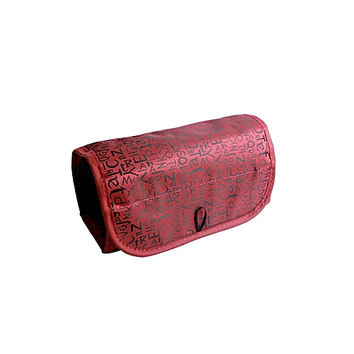 039e487fe550 Portable Cosmetic Bag Roll Make Up Wash Organizer Toiletry Storage