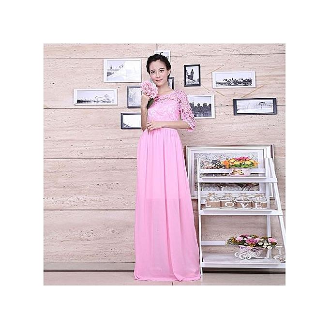 b4be10b11e37 Buy FASHION Lace Sexy Fashion Chiffon Skirt-rose Red online | Jumia ...