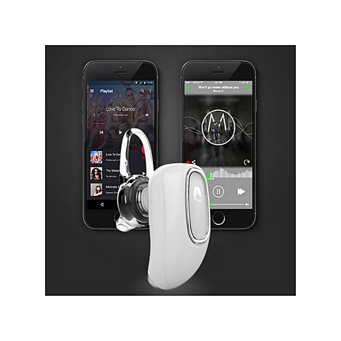 FF Firefly Design Hidden Headpiece In Ear Earbuds Bluetooth Wireless Voice  Reminder Support Hands Free Phone Call(Blue)