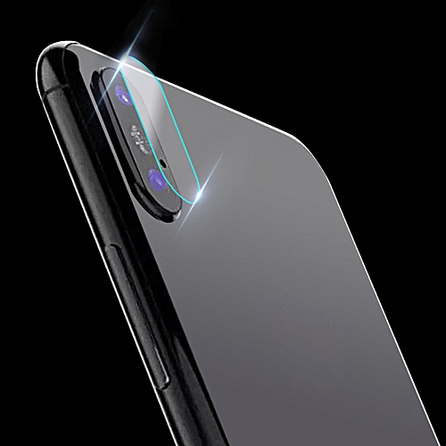 reputable site ebe23 b839f Hiamok Back Camera Lens Tempered Glass Protector Cover For iphone X