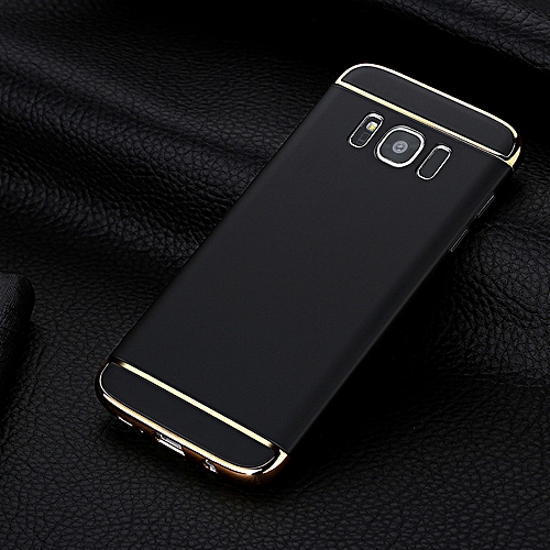 the best attitude ac2b8 e46d7 Luxury Thin Electroplate Hard Case Cover for Samsung Galaxy S8 5.8inch BK