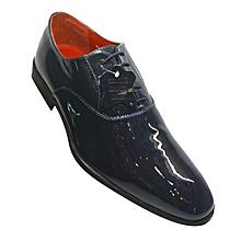 4bd2169c877 Ambassador 834-9865 Patent Leather Shoes - Navy Blue