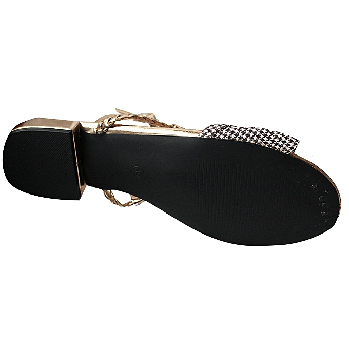 64b57cc406d Generic Ankle Strap Sandals - Gold
