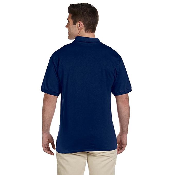 6885ed566 Other plain Navy Blue Men's Polo T-Shirt. | Jumia Uganda