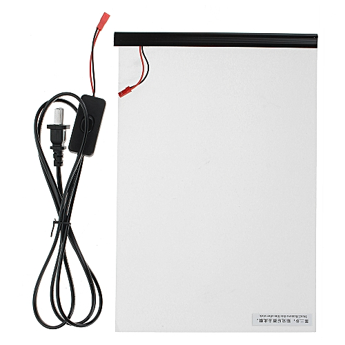 10x15cm Electronic PDLC Smart Glass EGlass Switchable Emagic Electroch Film
