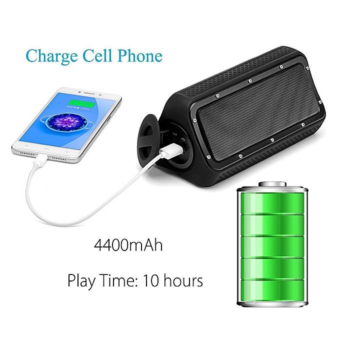 20 Watts TWS Waterproof Dustproof Bluetooth V4 2 Speaker Portable Music  Player