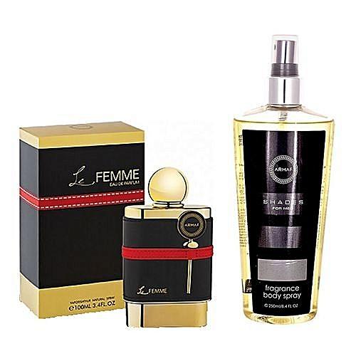 Armaf Bundle Of Armaf Le Femme Eau De Parfum For Women 100ml