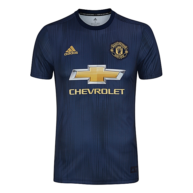 48ae8d87c Replica Manchester United Football Club 2018 2019 Replica Away Jersey -  navy blue
