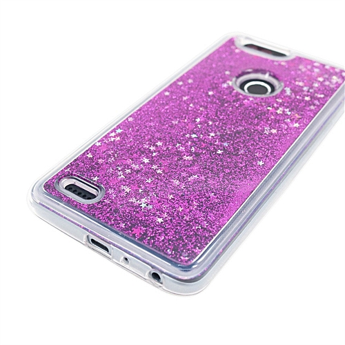 Hiamok Glitter Crystal Clear Shockproof Case Cover For ZTE ZMax Pro 2/ Z982  PP