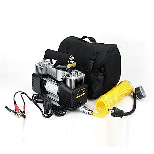 Dual Cylinder 12V Air Compressor Pump Car Tyre Tire Inflator 150PSI New