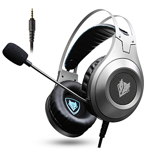 NUBWO N2 3 5mm Wired Gaming Headsets Over Ear Headphones Noise Canceling  Earphone with Microphone Volume Control for PC Laptop PS4 New XBOX ONE