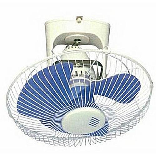 Electric 360° Ceiling Fan - White,Blue