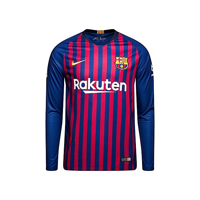new style 93932 1c9eb Barcelona Home Jersey Replica 2018/19 - Blue,Pink