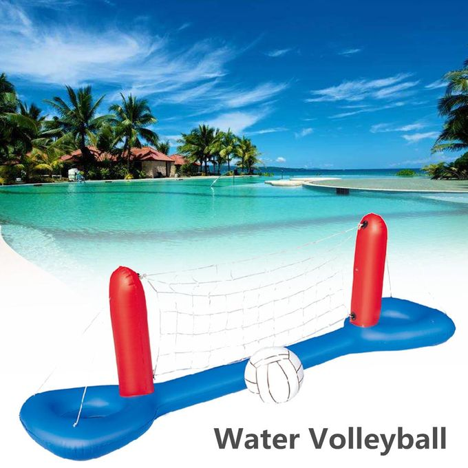 Inflatable Pool Volleyball Set & Ball Floating Swimming Pool Game Toy