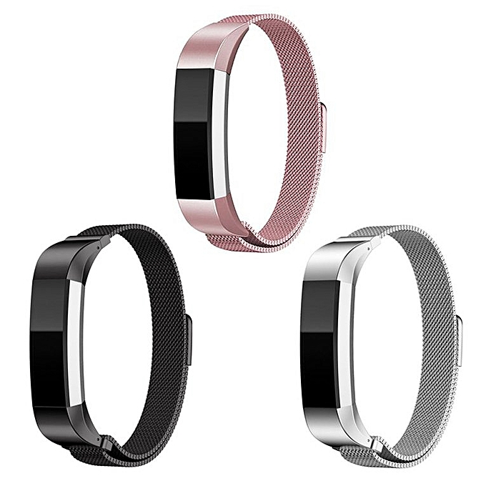 Stainless Steel Replacement Band Spare Strap For Fitbit Alta Watch Monitor  silver