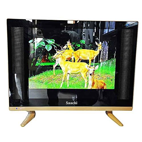 17 Inch Super Slim Pure LED USB, HDMI, AV Ports With Digital Decoder Flat  Screen TV - Black