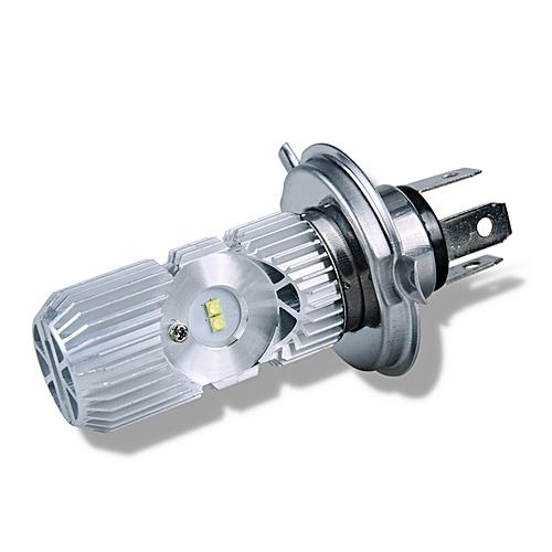12V 9V-85 H4 LED Motorcycle Headlights Hi/Low Beam 1400lm 6000K Bulbs  Scooter Lamp-