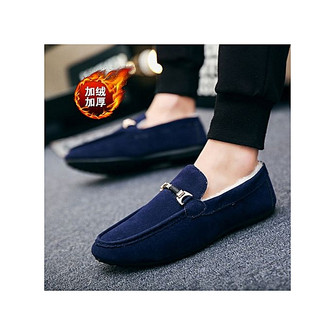 Clothing, Shoes & Accessories Men Retro Leather Shoes Soft Sole Casual Driving Antislip Loafers Large Size NEW Casual Shoes