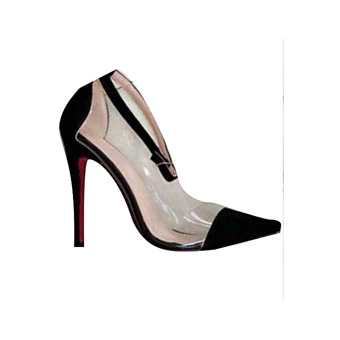 87b7039e915 Women's Perspex High Heel Shoes - Black