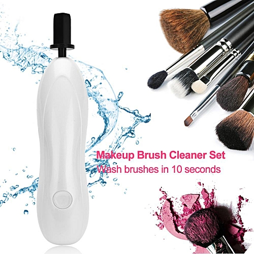 465adc3a75b7 Electric Cosmetic Wash Dryer Brush Cleaning Tool Kit Makeup Brushes Cleaner  Set