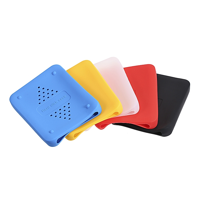 2 5inch HDD Silicone Case Hard Drive Disk Cover Protector Skin Ultra Soft  2 5