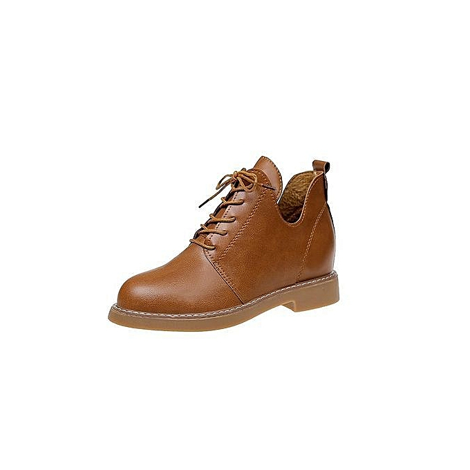 Lacing Boots Women Head Martin Stylish Leisure Vintage Round 1J3Tuc5lFK