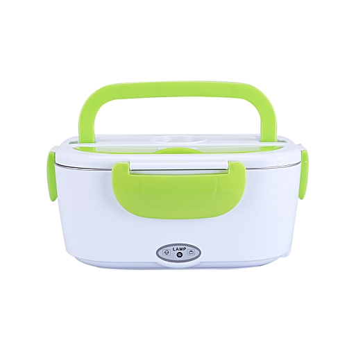 84df01635baa Multifunctional Portable Electric Heating Lunch Box Food Heater Food Warmer  with Removable Stainless Steel Container for Home Office(EU-Plug)