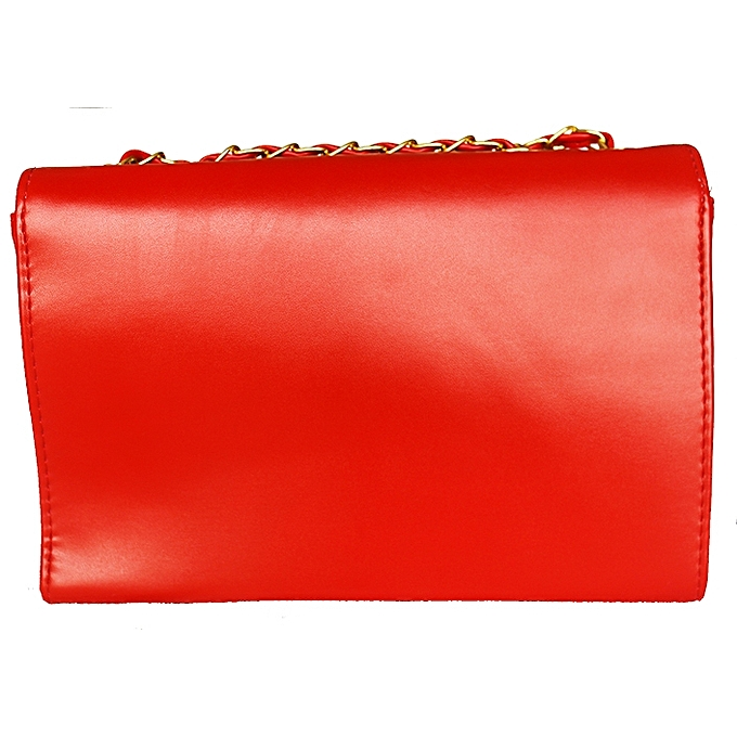 b2badcc69f9a ... Red YSL Bell Detailed Women s Cross Bag ...