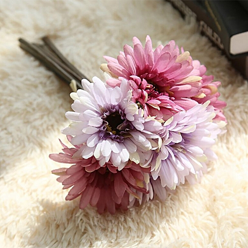 Generic Artificial Fake Flowers Leaf Magnolia Floral Wedding Bouquet