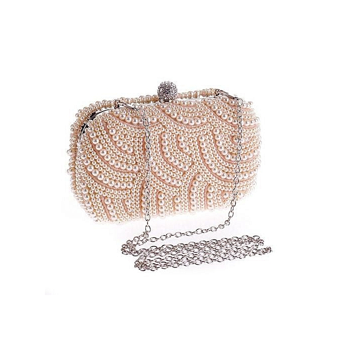 e4df800580 Tide cool handbags Exquisite evening party bag Pearl bag Clutch fashion  wild fashion bag