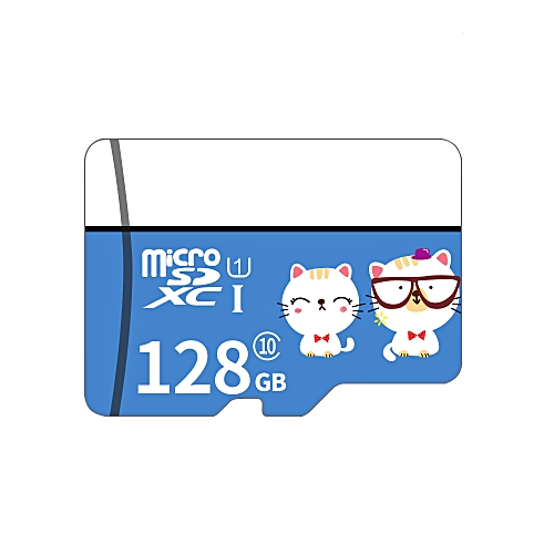 Micro SD Card Class10 TF Card 128GB Memory Card for Smart Phone Tablet PC  Car Recorder (Adapter Not Include)